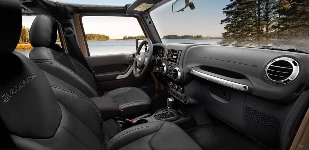 2018 Jeep Wrangler JK Interior
