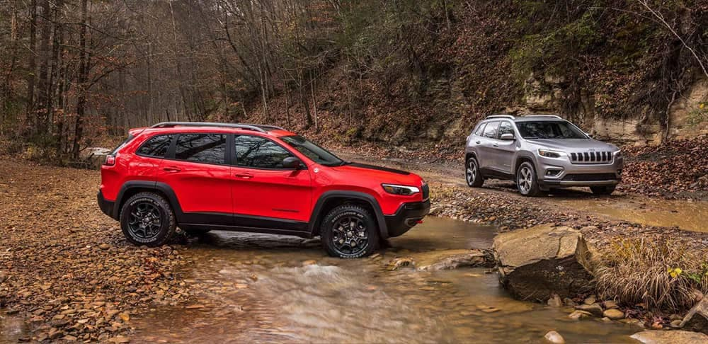 2019 Jeep Cherokee Trailhawk and Limited