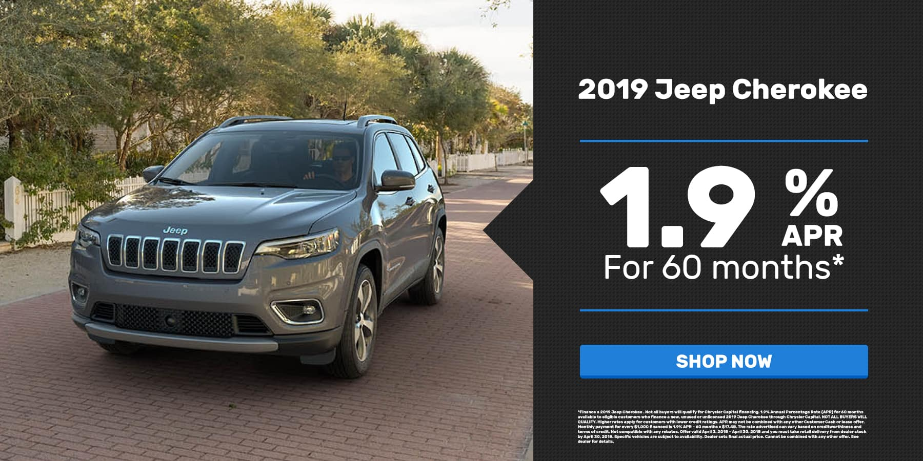 2019 Jeep Cherokee discount in OKC