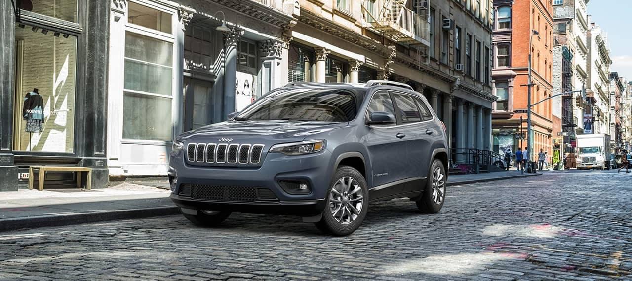 2019 Jeep Cherokee Latitude parked on street