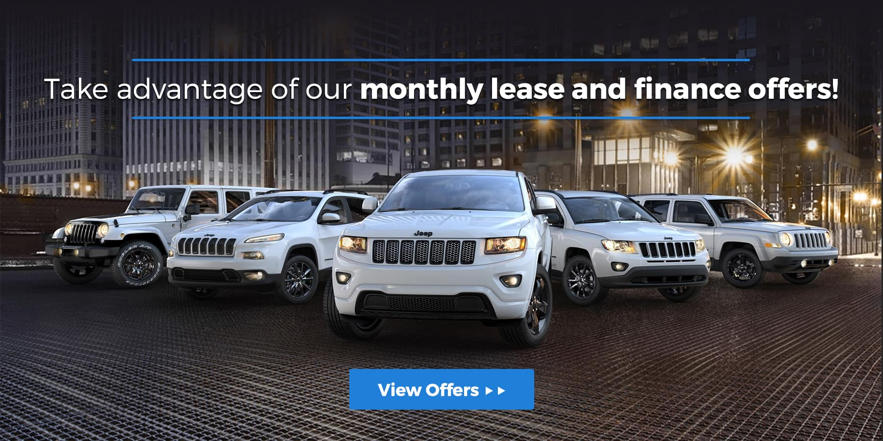 Monthly CDJR Finance/ Lease Offers