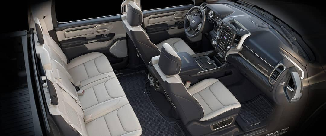 2019 RAM 1500 Limited Interior Cabin