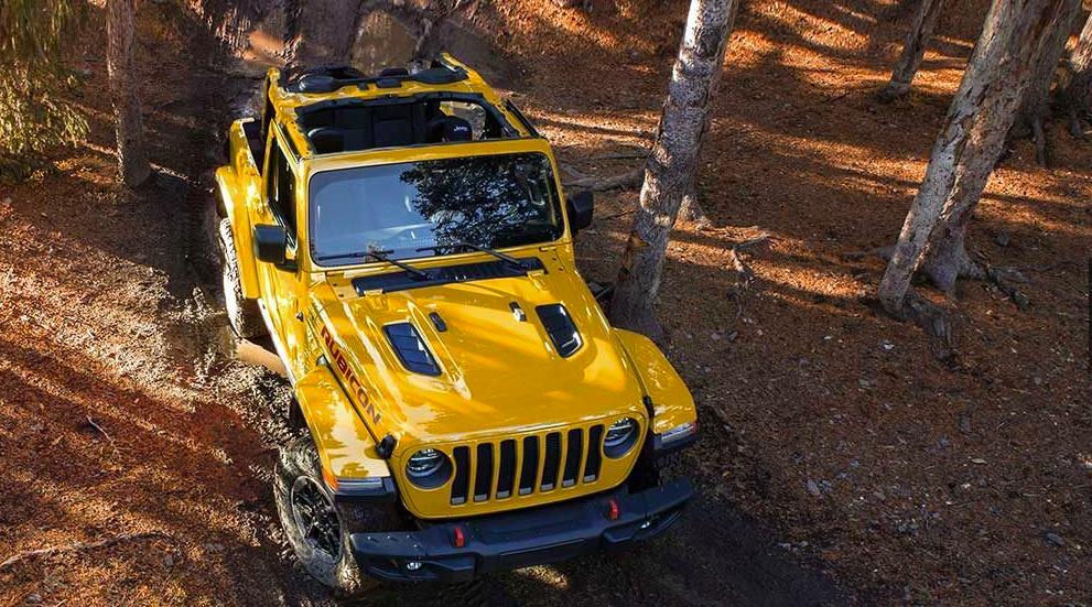 2019 Jeep Wrangler in mud