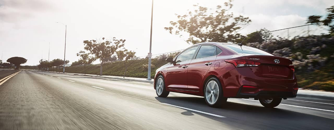 2018 Hyundai Accent in Red
