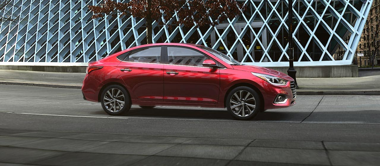 2018 Hyundai Accent on street
