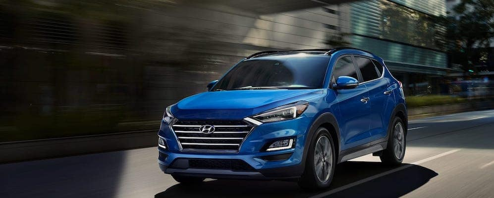 2019 Hyundai Tucson Driving on City Street