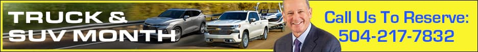 truck and suv month. call us to reserve 5042177832