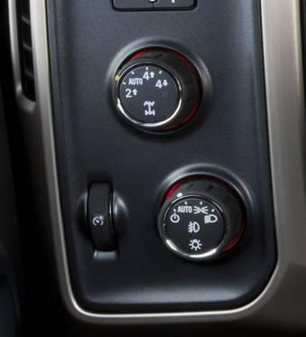 4x4 truck knob