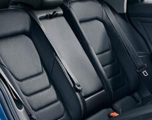 Ventilated leather seating surfaces