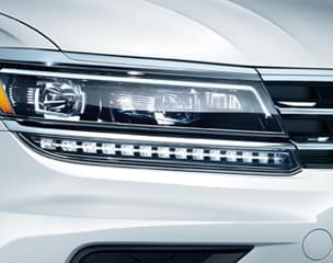 LED headlights with Adaptive Front-lighting System