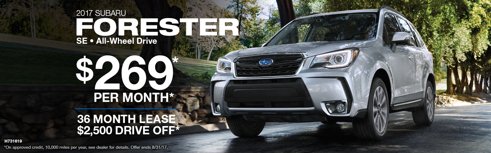 2017 Forester Lease