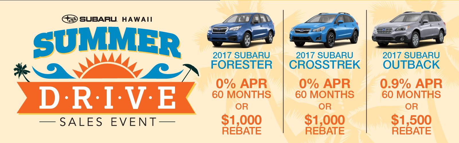 Subaru Summer Drive