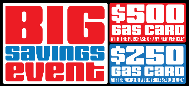 Big Savings Event