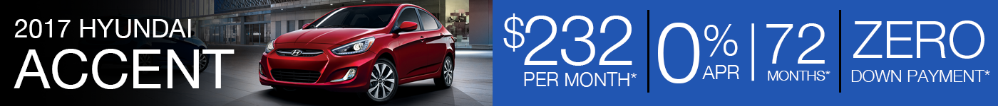 2017 Hyundai Accent Offer