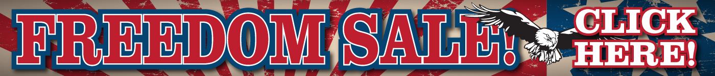 Freedom Sale!