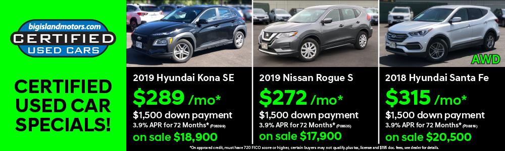 Big Island Motors Hyundai Subaru Hawaii Car Dealers
