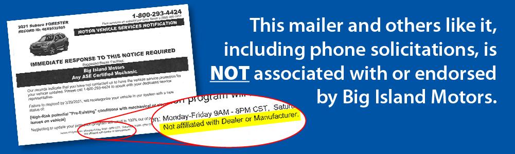 Predatory Service Mailer