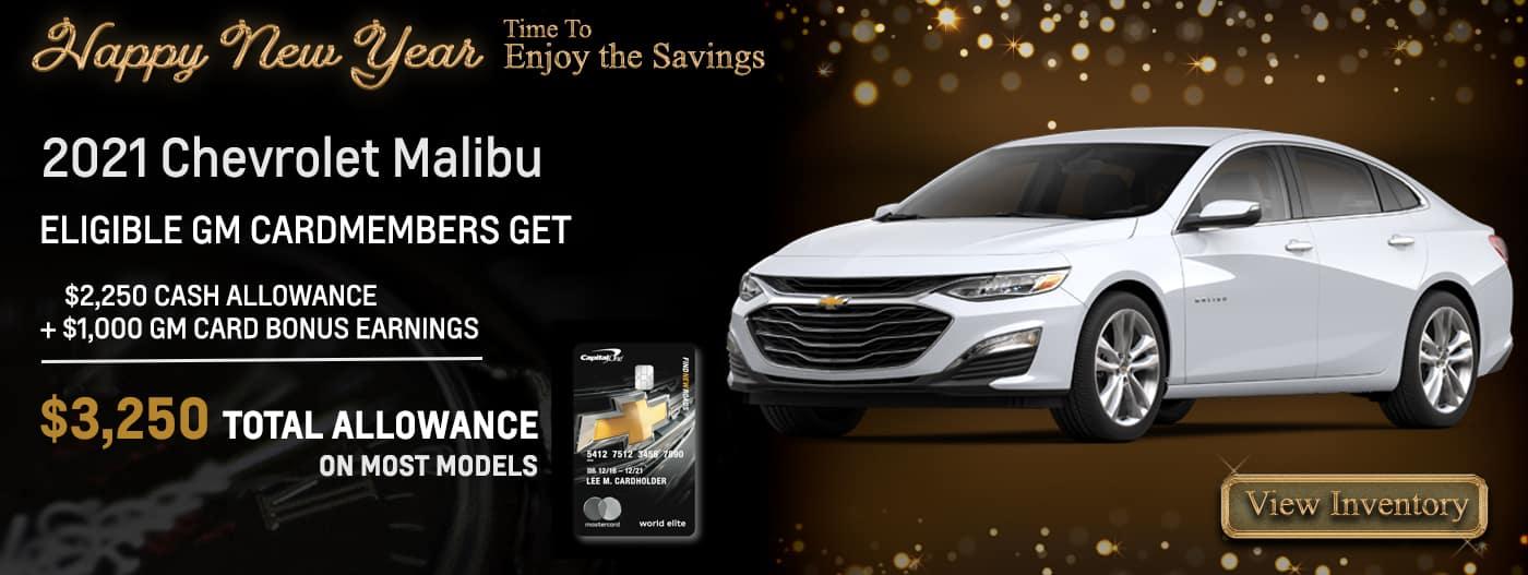 ELIGIBLE GM CARDMEMBERS GET $3,250 CASH ALLOWANCE +$1,000 GM CARD BONUS EARNINGS $4,250 TOTAL ALLOWANCE