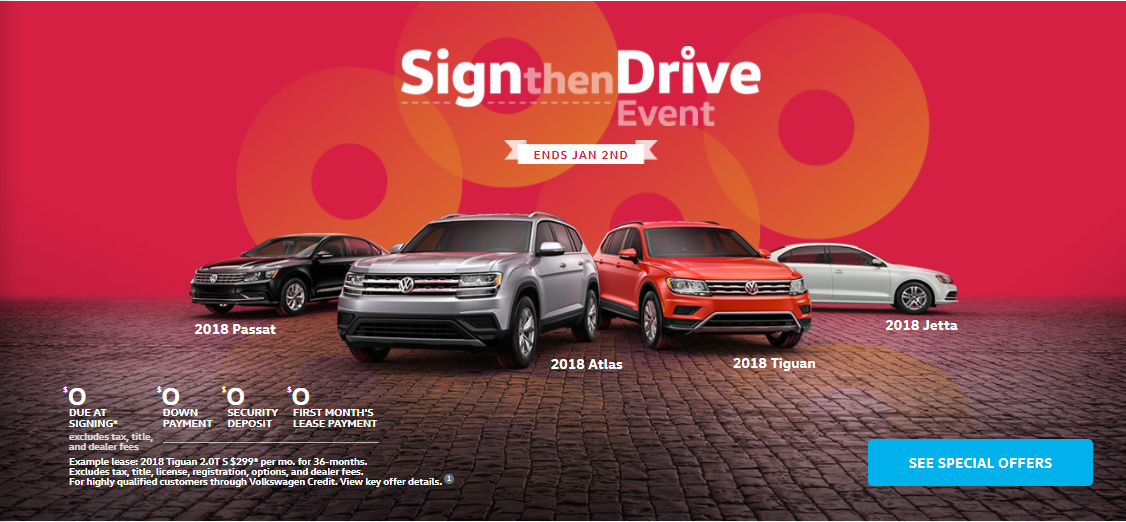 Sign and Drive Event Banner