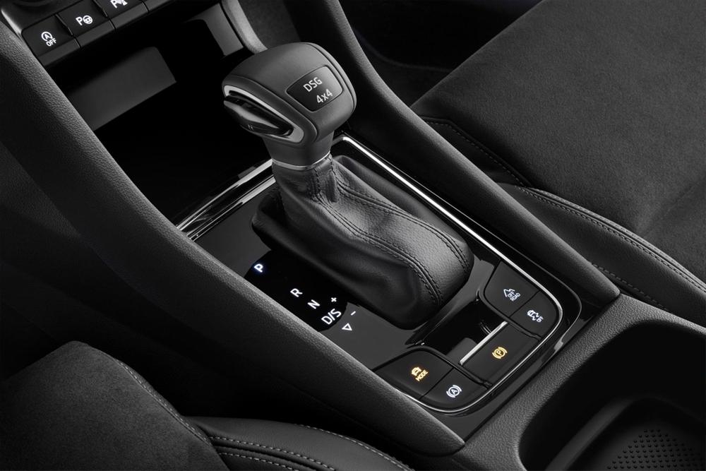 2021 VW Taos Interior gear shift