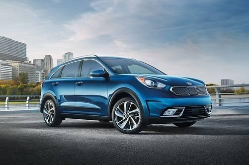 2017 Kia Niro - blue - Carriage Kia
