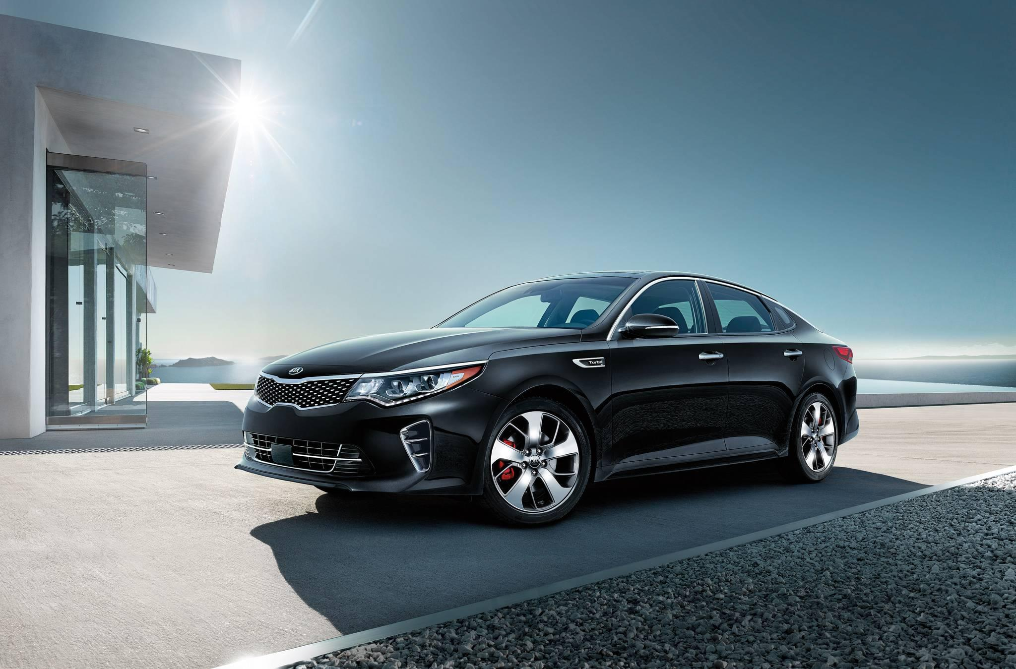 2017 Kia Optima - black - Carriage Kia