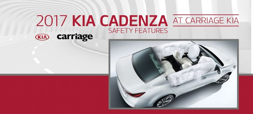 2017 Kia Cadenza Safety Features