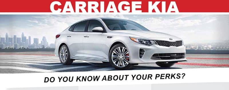 Do You Know About Your Perks At Carriage Kia?