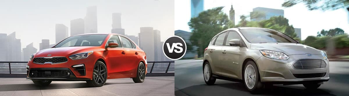 2019 Kia Forte vs 2019 Ford Focus