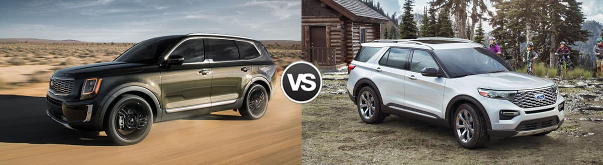 2020 Kia Telluride vs 2020 Ford Explorer