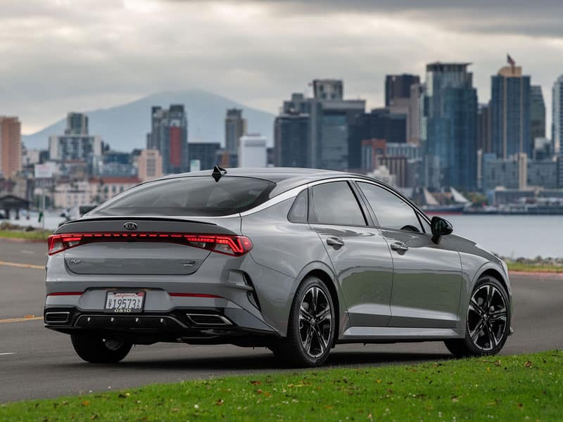 All-New 2021 Kia K5 Exterior Features
