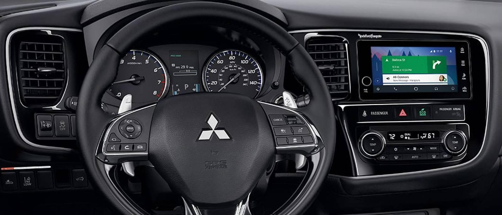 2017-Mitsubishi-Outlander-interior-leather-steering-wheel-overlay