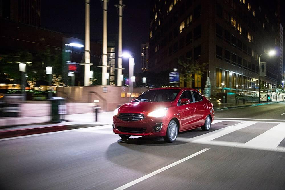 2017 Mitsubishi Mirage technology safety