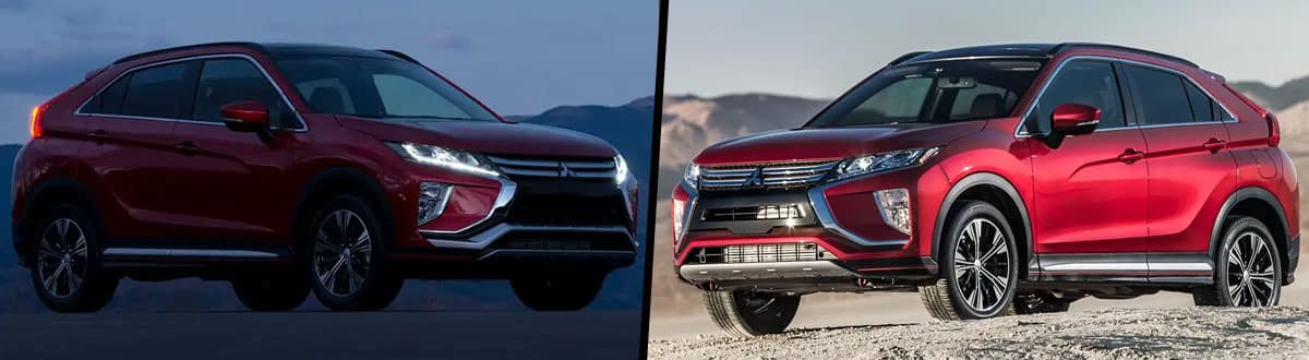 2019 Mitsubishi Eclipse Cross vs 2018 Mitsubishi Eclipse Cross