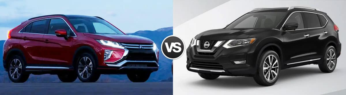 2019 Mitsubishi Eclipse Cross vs 2019 Nissan Rogue
