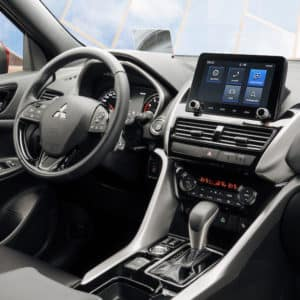 Mitsubishi Eclipse Cross comes with available heated steering wheel, paddle shifters and dual zone automatic climate control