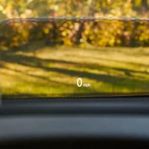 Mitsubishi Eclipse Cross with available Head-Up Display