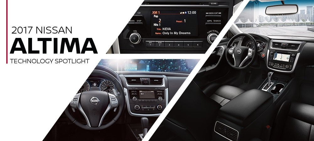 2017 Nissan Altima Technology