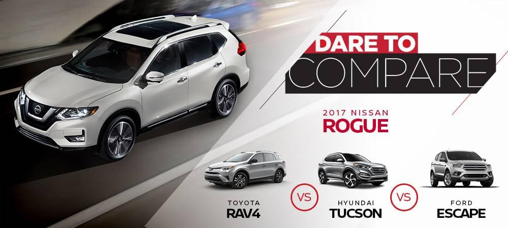 Nissan Rogue Dare to Compare