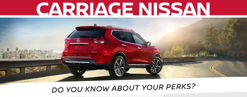 Nissan Gainesville Ga >> Do Your Know About Your Perks At Carriage Nissan