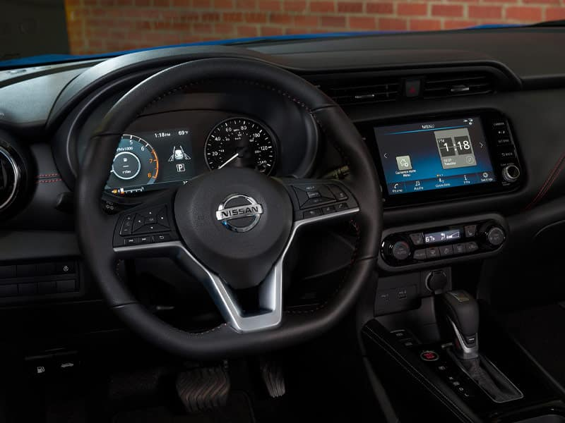 2021 Nissan Kicks offers driver intelligent connected technology