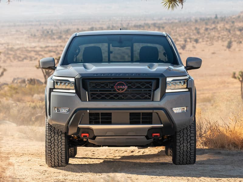 2022 Nissan Frontier models and trim levels