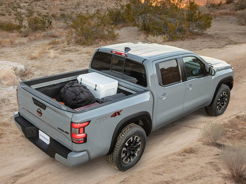 2022 Nissan Frontier powertrain and performance