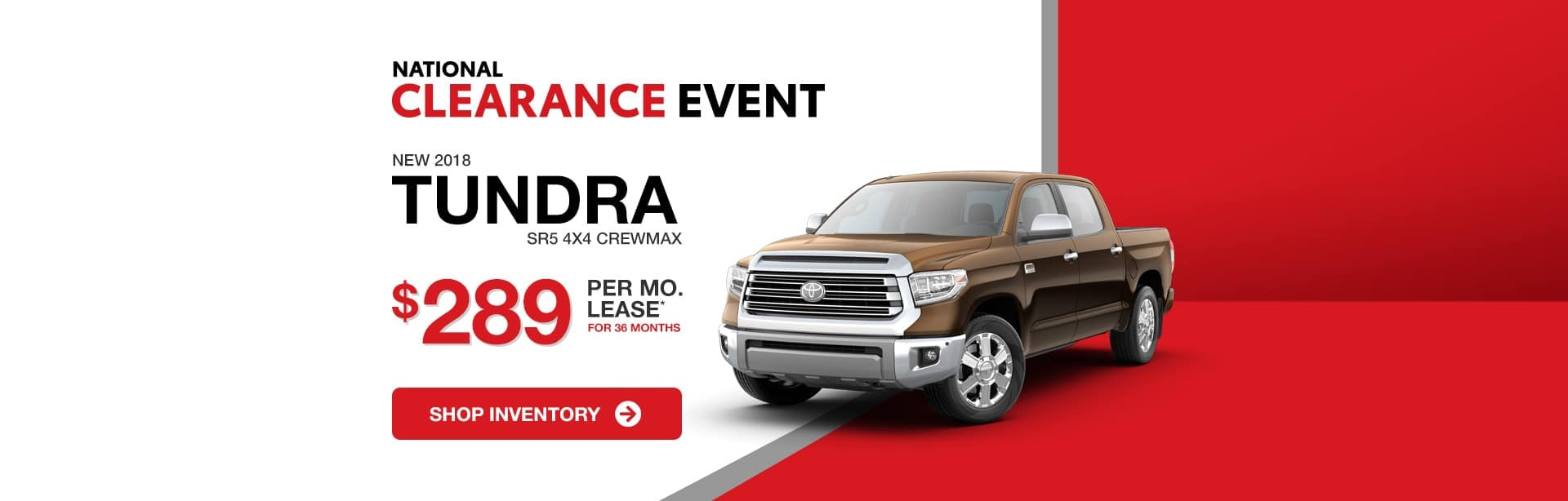 Toyota Tundra Lease Special in Columbus, Indiana