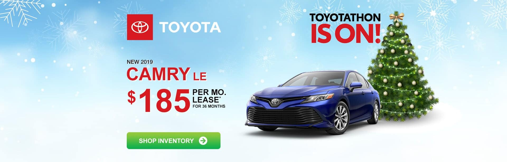 Toyota Camry Lease Special near Indianapolis, Indiana during Toyotathon.
