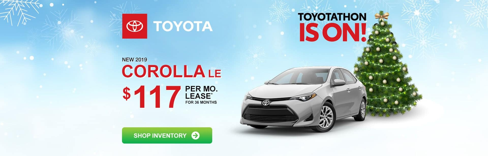 Toyota Corolla Lease Special near Greenwood, Indiana during Toyotathon!