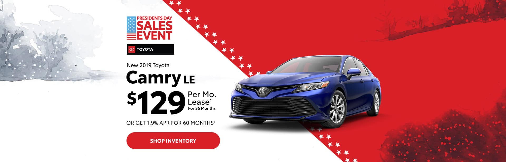 Toyota Camry Lease and Finance Special in Columbus, Indiana.