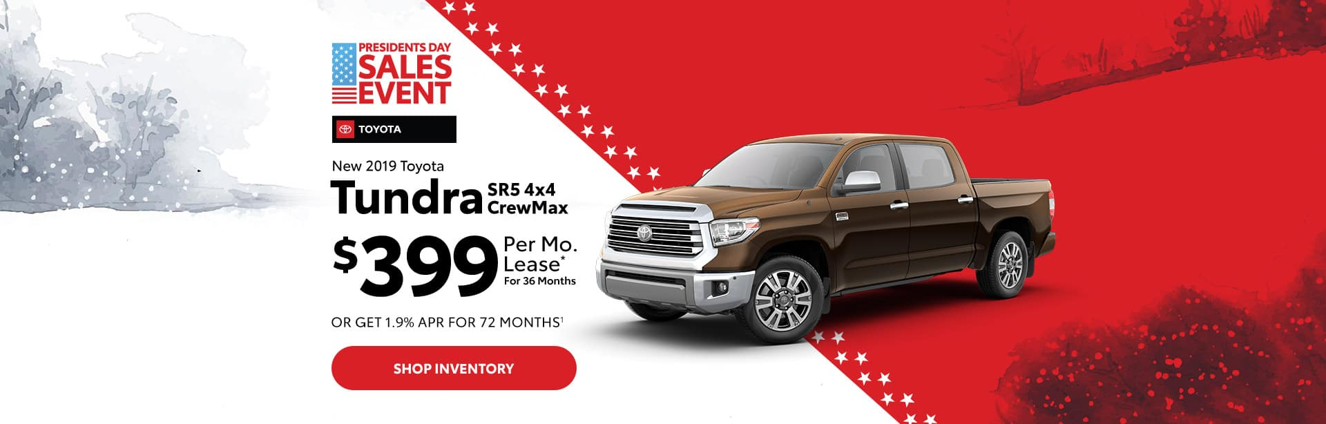 New Toyota Tundra Lease in Columbus, Indiana.