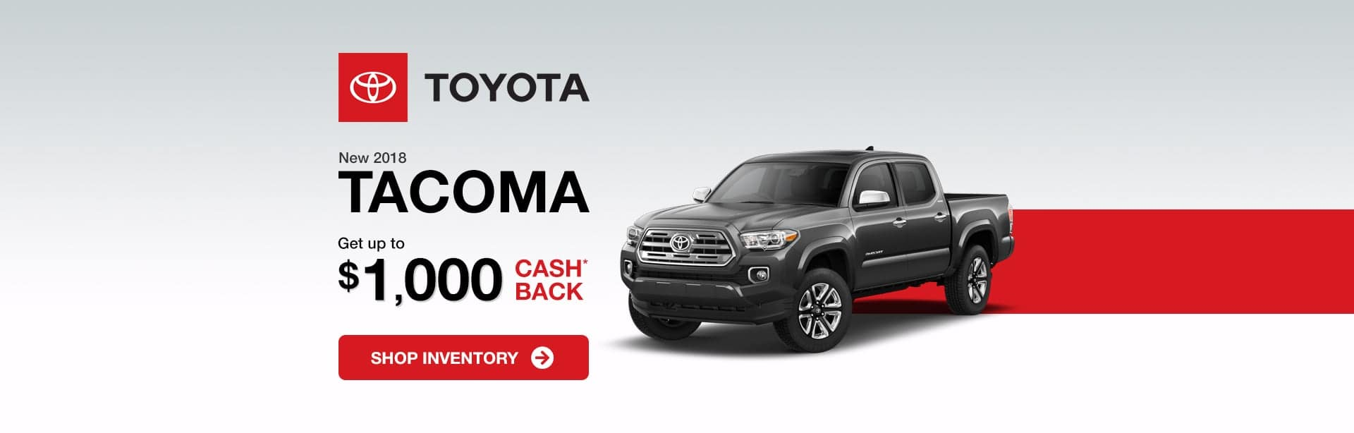 Toyota Tacoma Indianapolis Cash Back Offer