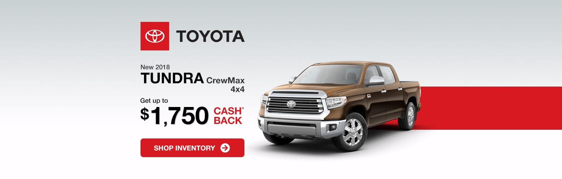 Toyota Tundra Indianapolis Cash Back Offer